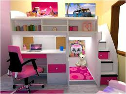 Desk Beds For Girls Bedding Exquisite Loft Bed With Desk Underneath 24 Cute Kids