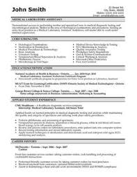Lab Manager Resume Free Medical Resume Templates Resume Template And Professional