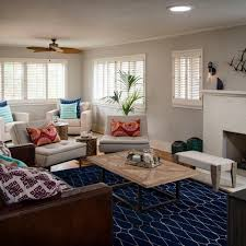 blue living room rugs photo page hgtv