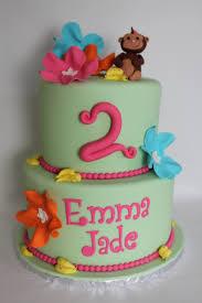 Tropical Theme Birthday Cake - tropical monkey cake lil u0027 miss cakes