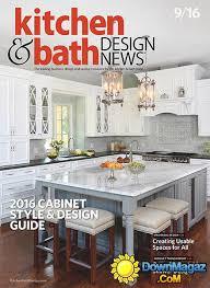 kitchen bath design news kitchen bath design news september 2016 download pdf kitchen design