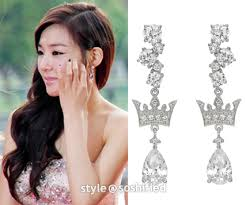j estina earrings soshified styling snsd j estina