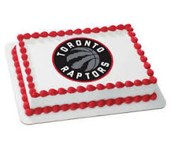 basketball cake topper toronto raptors nba basketball frosting image cake topper icing