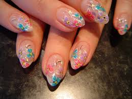 cheerful flowers u2013 beautiful floral nail art designs nail art at