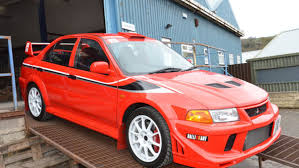 mitsubishi evo red and black featured auction 2000 mitsubishi lancer evolution vl u0027tommi
