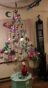 how to make a suspended ornament christmas tree craft projects