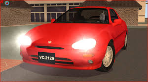mazda corp sims 2 car conversion by vovillia corp 1996 mazda mx 3 youtube