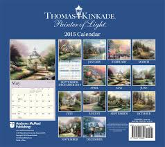 thomas kinkade halloween thomas kinkade painter of light 2015 deluxe wall calendar thomas