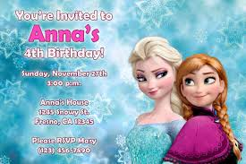 8 best images of free frozen birthday party invitations printable