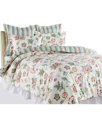 Stein Mart Home Decor Floral Print Luxury Quilt Collection Main View Stein Mart Faves