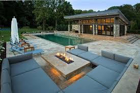 Gas Firepit Table Pool Gas Pit Table Home Ideas Collection