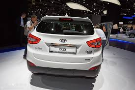 hyundai crossover 2014 frankfurt 2013 updated 2014 hyundai ix35 live photos