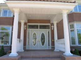 modern house entrance entrance doors designs decoration design double exterior makeovers