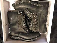 womens biker boots size 12 jeffrey cbell biker boots for ebay