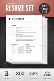 stylish psd u0026 indesign resume template wakaboom