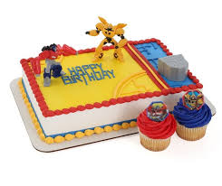 optimus prime cake topper transformers optimus prime and bumblebee cake topper plus 24