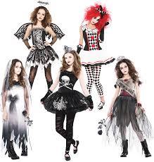 Halloween Costumes Girls Age 16 Zombie Girls Age 12 16 Fancy Dress Halloween Teen Kids Childs