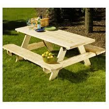 patio picnic table kit 6 ft model 106116 true value