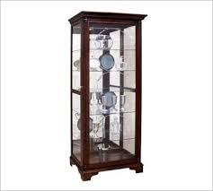 wood and glass cabinet glass display cabinets glass curio cabinet