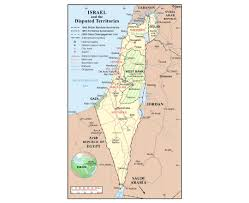 Map Of Isreal Maps Of Israel Detailed Map Of Israel In English Tourist Map