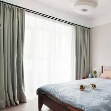 grey polyester jacquard contemporary insulated curtains for bedroom