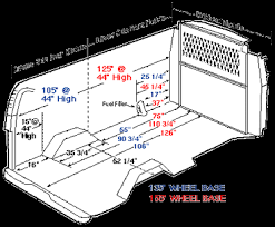 Interior Dimensions Of A 53 Trailer Detailed Measurements For Interior Dimensions Chevy Express