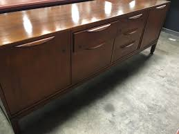vintage desk credenza set by jens risom dynamic office services