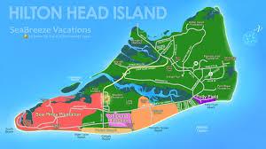 Beach Houses For Rent In Hilton Head Sc by Hilton Head South Carolina Map Afputra Com