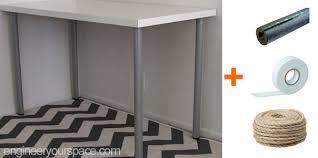 ikea legs hack ikea desk hack scratching post legs smart diy solutions for renters