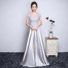 evening wedding bridesmaid dresses 2016 charming lace appliques floor length prom dresses cap