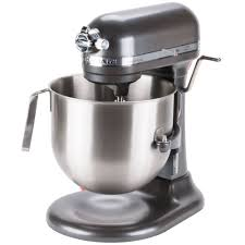 Kitchen Aid Mixer Sale by Pewter Kitchenaid 8 Qt Commercial Mixer Ksm8990dp Webstaurantstore