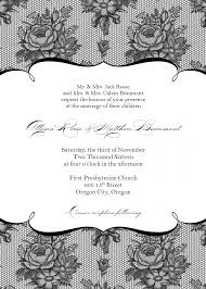 Invitation Card Formal Formal Vintage Floral Wedding Invitation Template With Unique