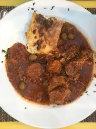 cuisine corse veau aux olives plat veau corse aux olives et gratin dauphinois picture of santa