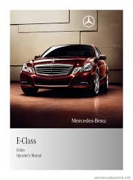 mercedes benz e350 2010 w212 owner u0027s manual