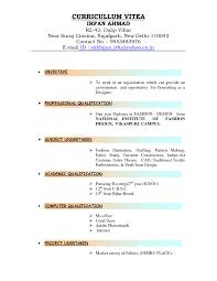 resume pattern sample kinds of resume format it resume cover letter sample kinds of resume format