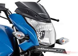 new honda unicorn 160 facelift with bs iv and aho launched