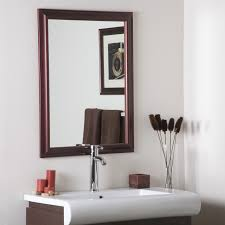 Bathroom Mirror With Shelf by Vanity Mirrors Framed And Oval Bathroom Mirrors