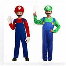 Mario Luigi Halloween Costume Compare Prices Kids Mario Costumes Shopping Buy