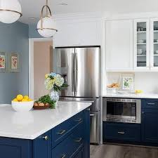 what color hardware for navy cabinets navy blue cabinets with brass hardware design ideas