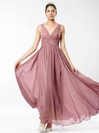 chiffon dress pastel pink v neck sleeveless crinkle chiffon dress with twist