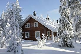 winter cabin ounasvaara chalets winter cabin in rovaniemi