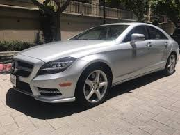 mercedes amg 550 cls silver mercedes cls in illinois for sale used cars on