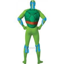 mens tmnt teenage mutant ninja turtle 2nd skin fancy dress
