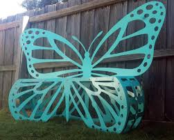 Butterfly Bench Butterfly Bench Seat Metal Art