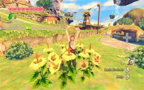 Skyward Sword Map Hd Screenshots Of Zelda Skyward Sword Nintendo Everything