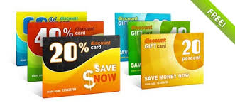 discount gift card free psd discount gift cards vector files 365psd