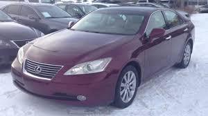2007 lexus is 350 reviews pre owned ruby 2007 lexus es 350 ultra premium package w