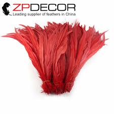 online get cheap long red feathers aliexpress com alibaba group