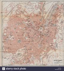 stuttgart on map stuttgart antique town city stadtplan baden württemberg karte
