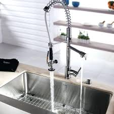 kraus commercial pre rinse chrome kitchen faucet gicasa commercial style single handle stainless steel pre pre
